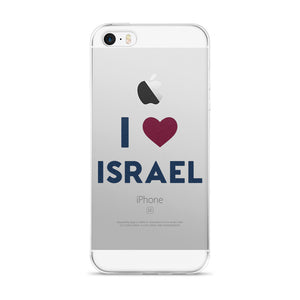I ❤️  Israel iPhone 5/5s/Se, 6/6s, 6/6s Plus Case
