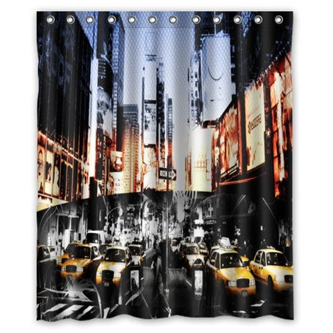 New York City Waterproof Fabric 60 X 72 Shower Curtain 19 Designs Loluxe