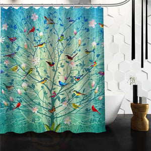 The Tree Of Life Shower Curtain W Hooks Floessence