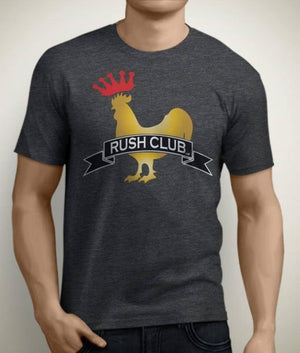 Rush Club Men's Athletic Fit King Rooster T-Shirt