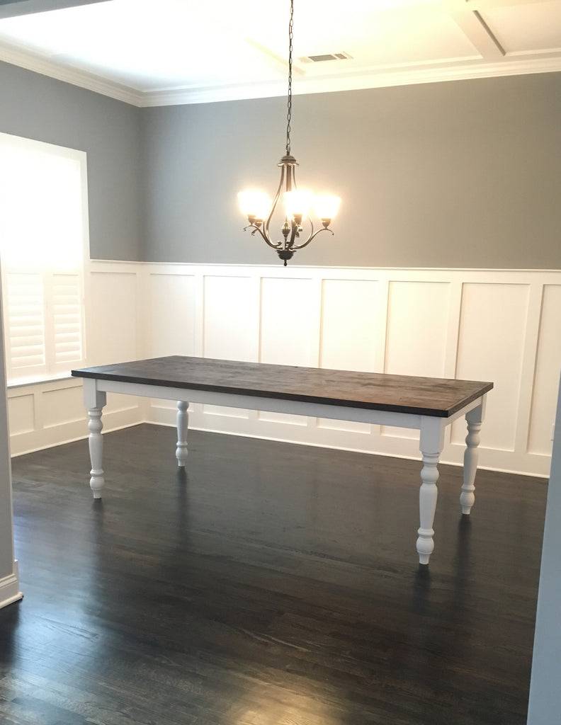 Traditional Farmhouse Dining Table