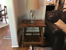 A Frame End Table