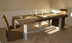 Eve- Farmhouse Table and Desk
