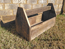 Barnwood Tool Caddy Centerpiece