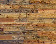 "Wallplank Reclaimed Barnwood Plank - 20"" x 30"" Display Sample (4) Colors to Choose From"