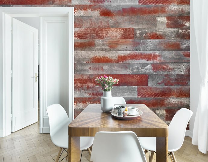 Wallplanks Weathered Scarlet Originals - Class A