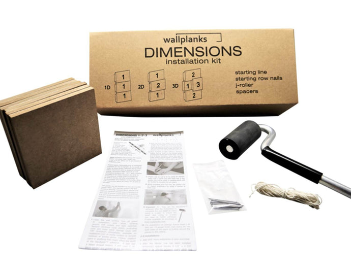 Wallplanks Dimensions Installation Kit