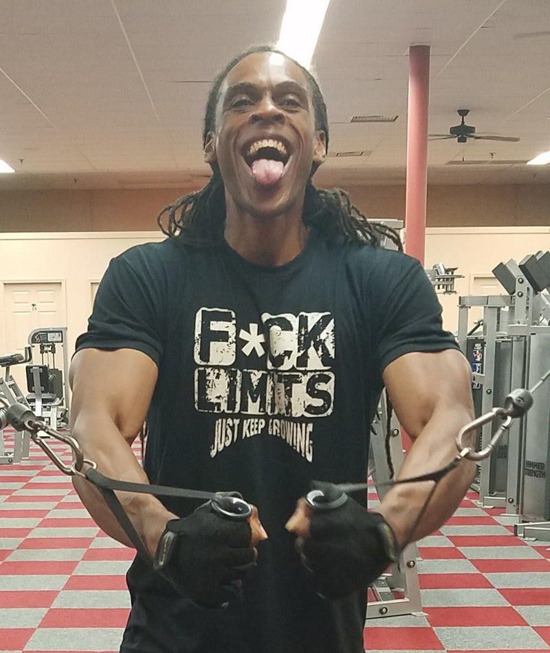 Iron Gods F*ck Limits T-Shirt