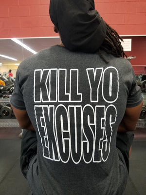 Iron Gods | Kill Yo Excuses Long Body T-Shirt