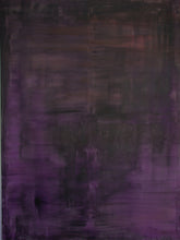 large dark purple painting by cheryl wasilow