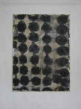 black abstract painting on canvas in 30 x 40 by cheryl wasilow