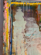 mixed media abstract painting by Cheryl Wasilow