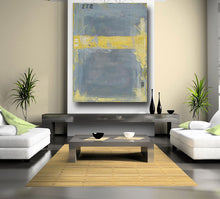 large abstract painting original acrylic american artist usa interior design living room decor art home decor wall art gray painting custom - cherylwasilowart