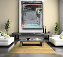 36 x 48 large original black painting in contemporary style by cheryl wasilow art