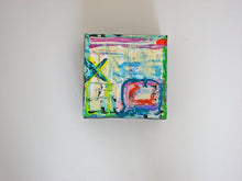 small painting on canvas with thick paint by cheryl wasilow artist