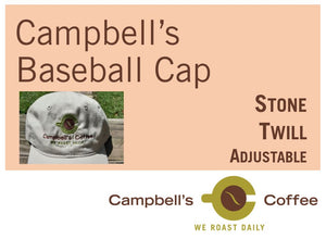CAMPBELL'S COFFEE BASEBALL CAP