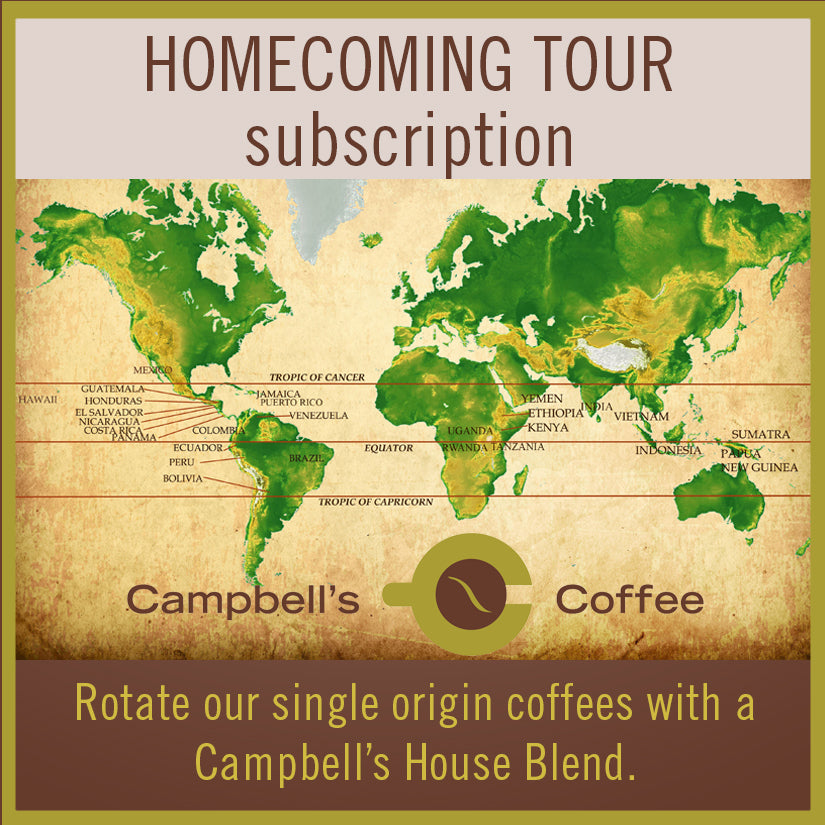 Homecoming Tour Coffee Subscription