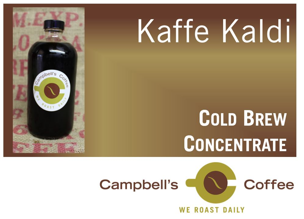 Kaffe Kaldi Concentrate