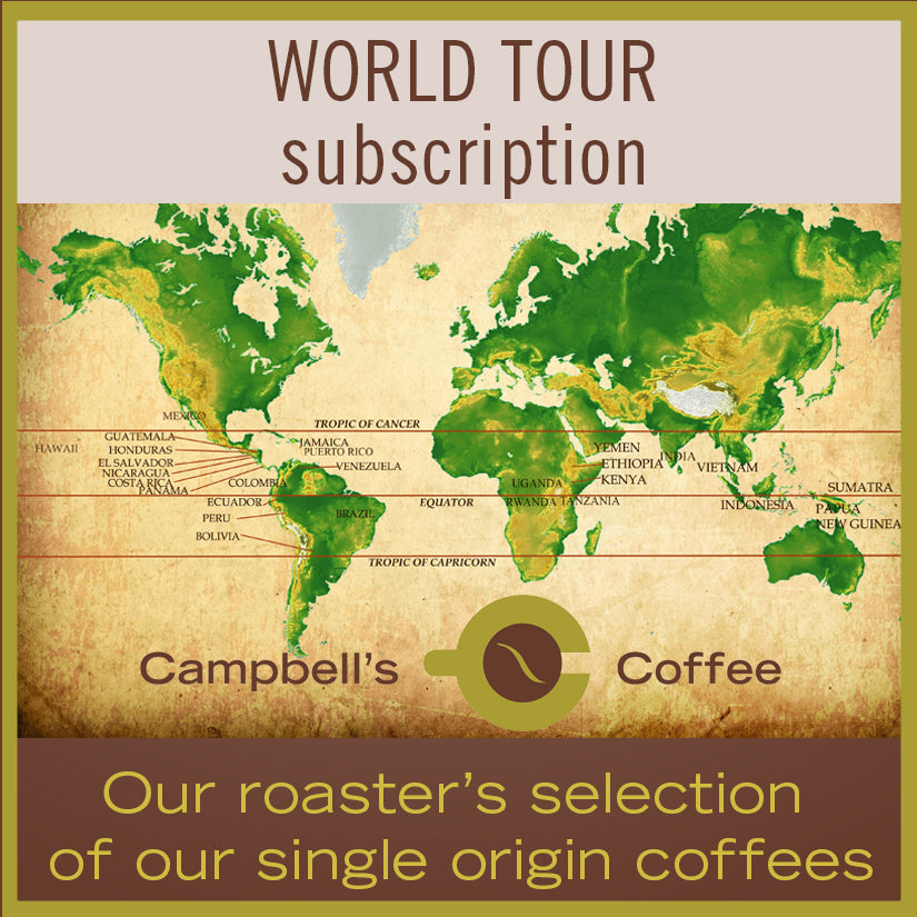 World Tour Coffee Subscription