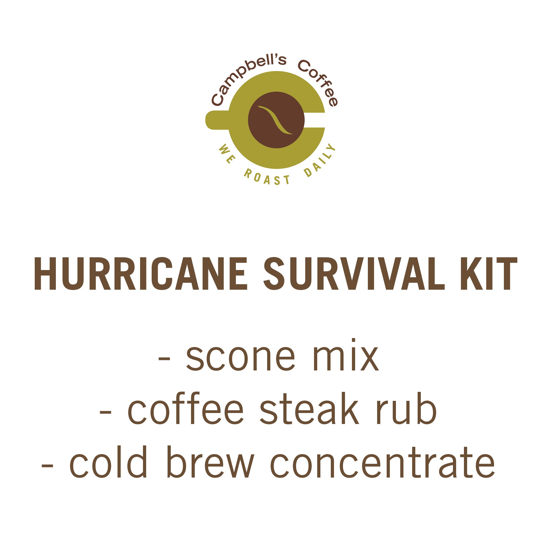 Hurricane Survival Kit #1