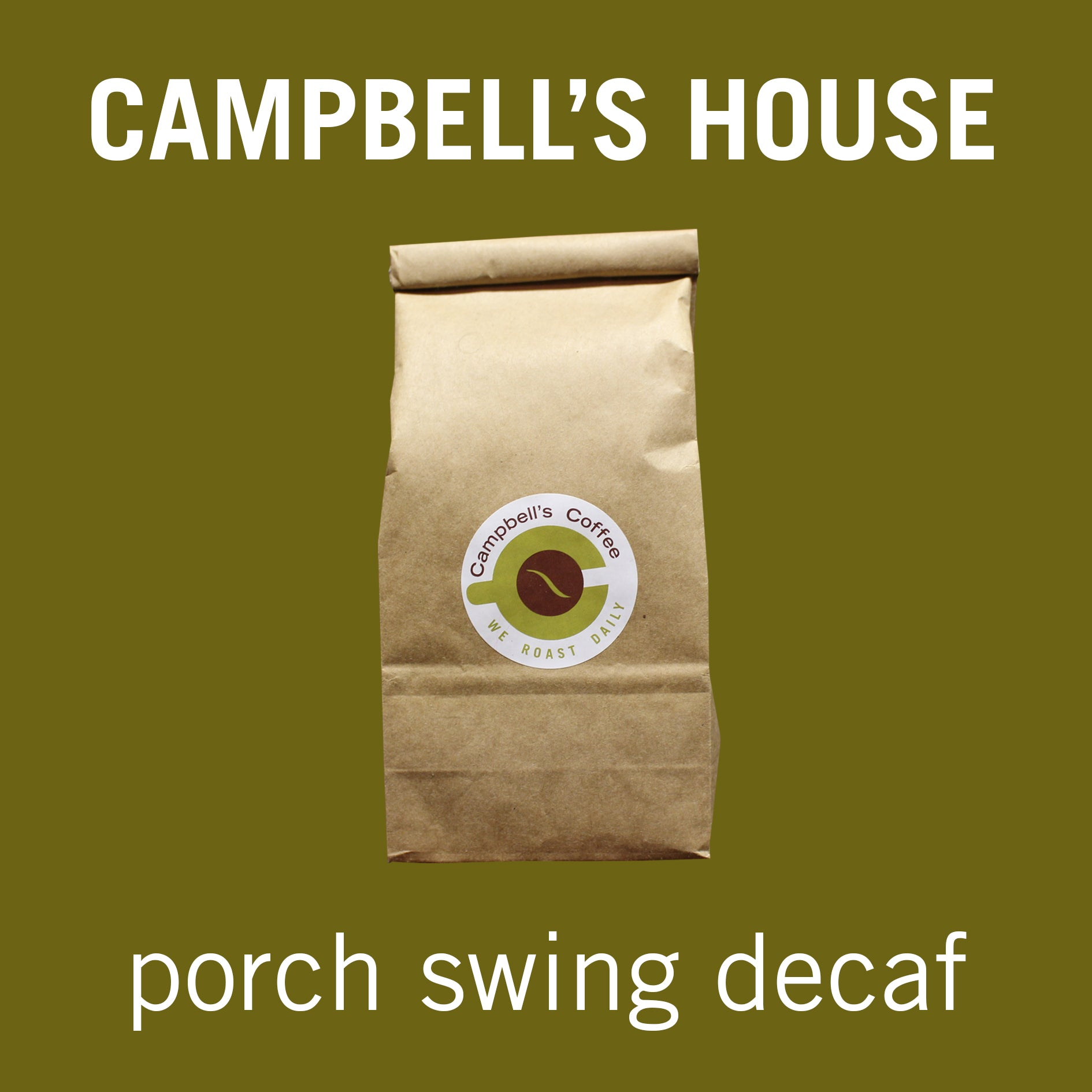 DECAF Porch Swing