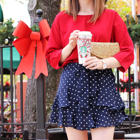 Dots for Days Skirt