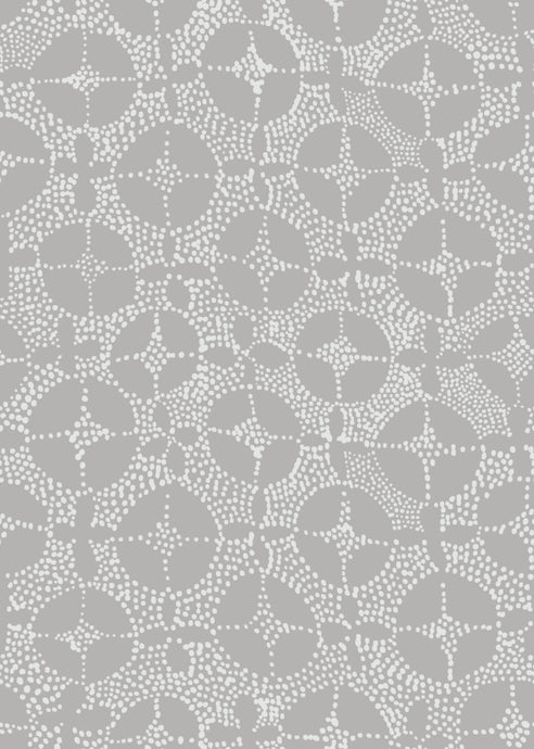 Mosaic Fabric in Grey