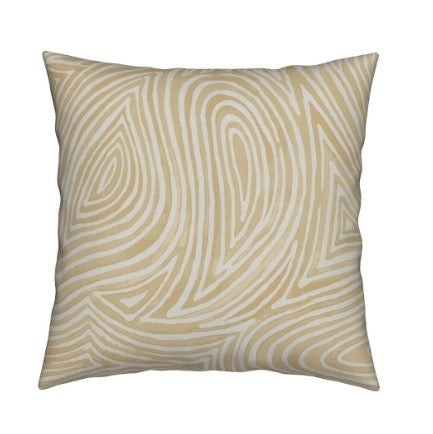 Ebb & Flow Throw Pillow, Sand