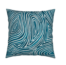 Ebb & Flow Throw Pillow, Ocean