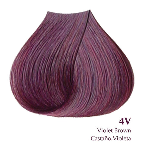 Satin- Violet Brown 4V