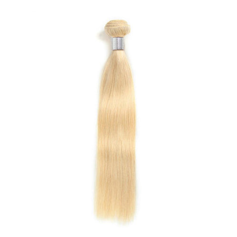613 Blonde Human Straight Hair Bundle