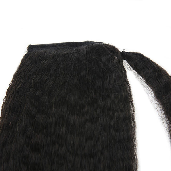 Clip in Ponytail Hair Extensions  #1B