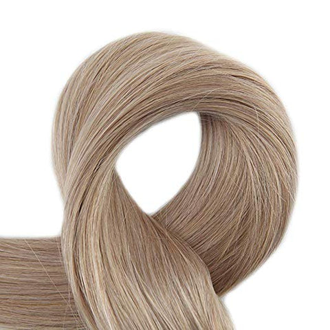 Double Drawn Tape in Hair Extensions Pure Color 50g 20Pcs Colorful Hair Extensions Remy Human Hair Skin Weft Tape ins #18