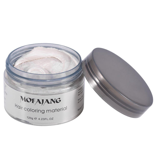 Hair Coloring Wax White