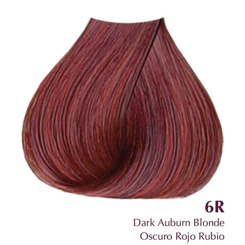 Satin-Dark Auburn Brown 6R