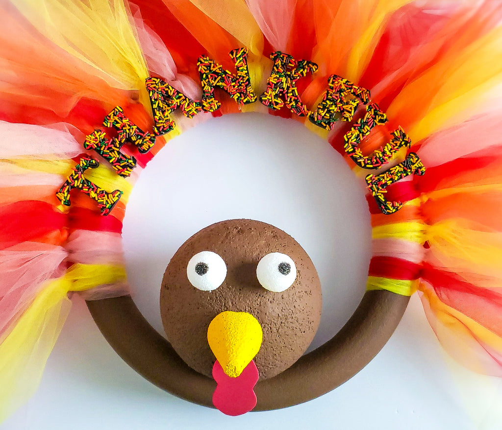 Sprinkley Turkey Wreath