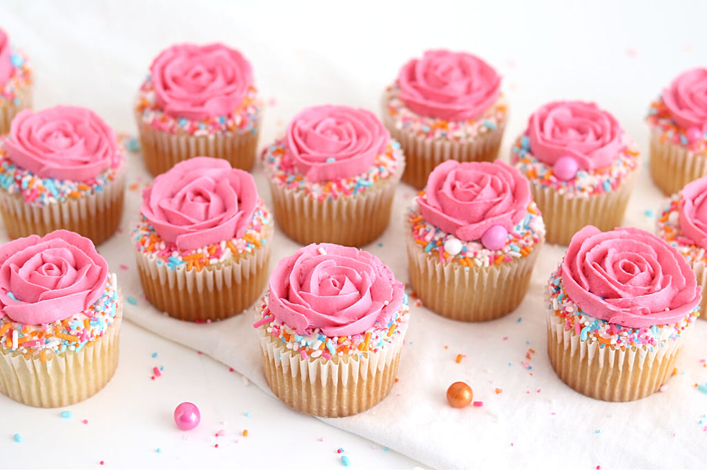 sorbeto rose cupcake tutorial