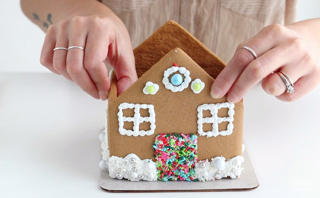Sprinkle Gingerbread House