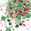 Christmas Wreath Sprinkle Mix