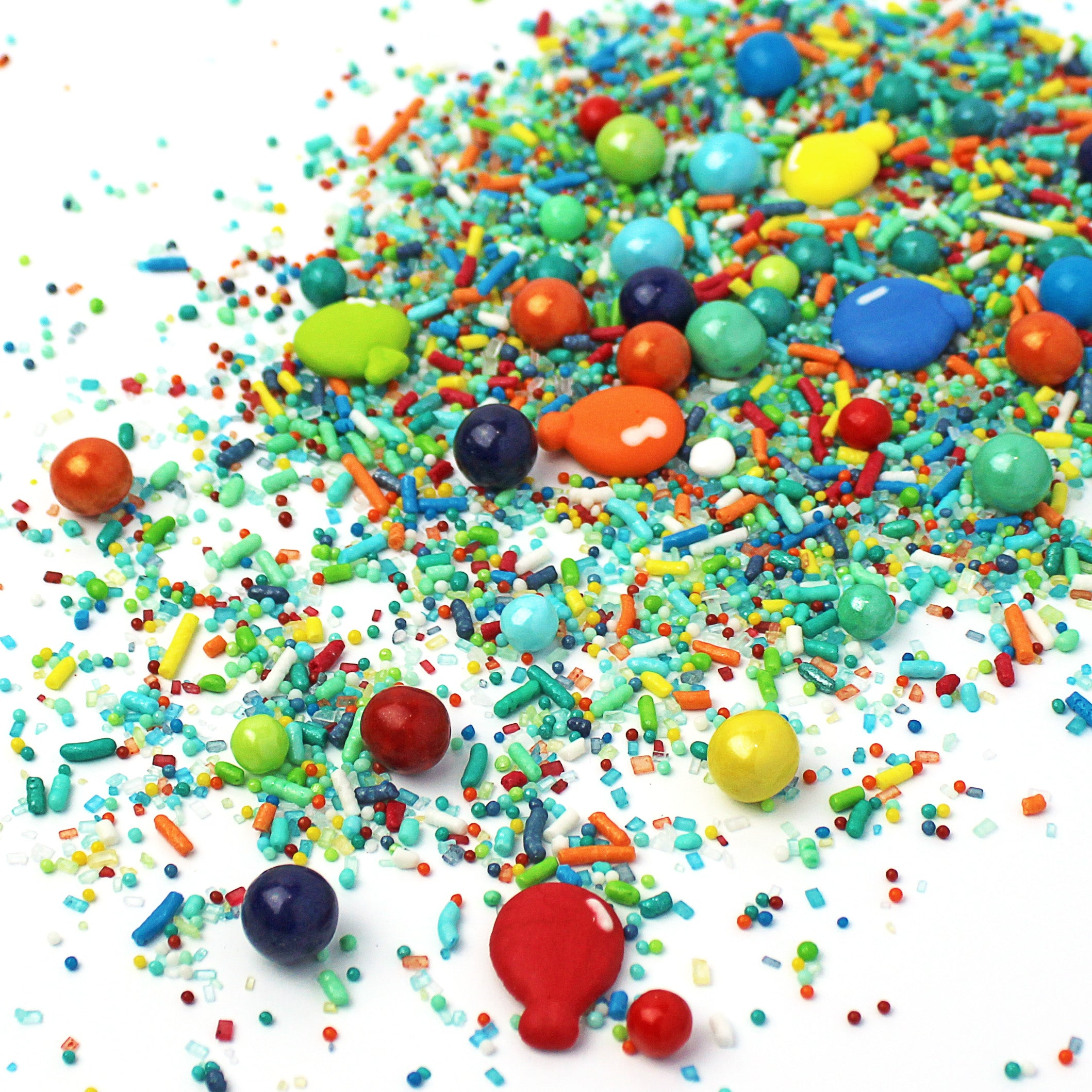 Blue Birthday Sprinkle Mix