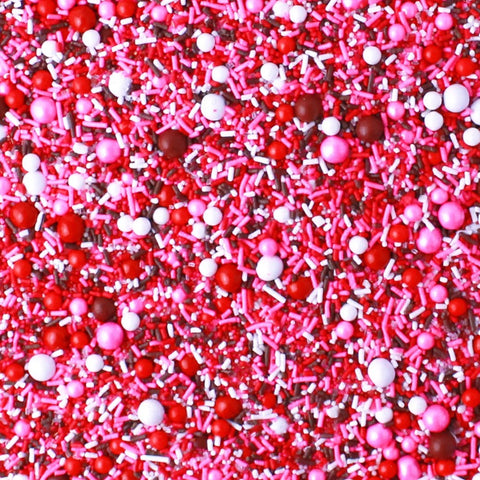 Chocolate Covered Strawberry Sprinkle Mix