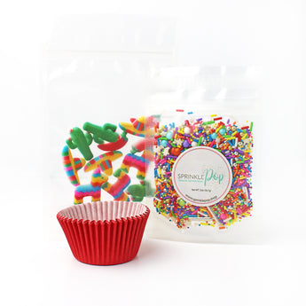 Cinco De Mayo Cupcake Kit