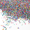 Cool Rainbow Nonpareil Sprinkle Mix
