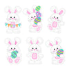 Easter Bunny Edible Cupcake Toppers