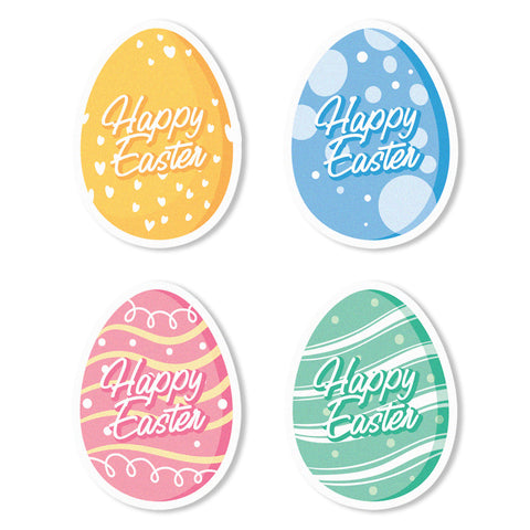 Easter Egg Edible Cupcake Toppers