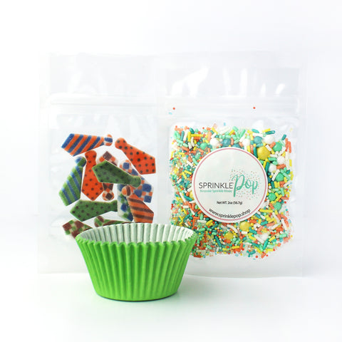 Fathers Day Cupcake Kit with Liners