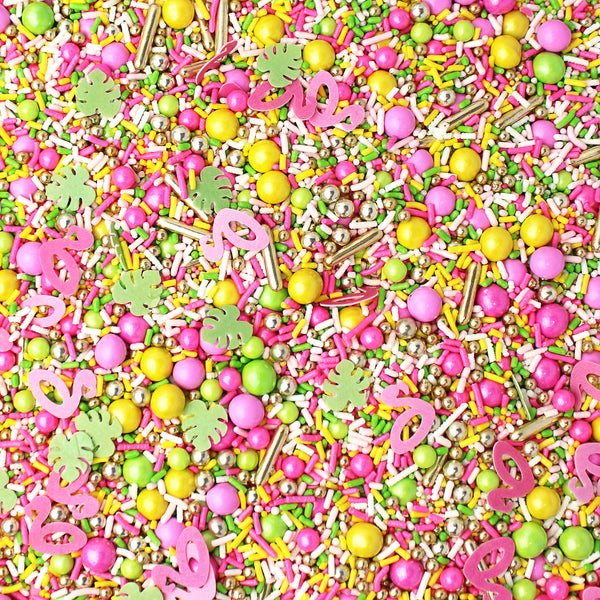 Flamingo Floatie Sprinkle Mix