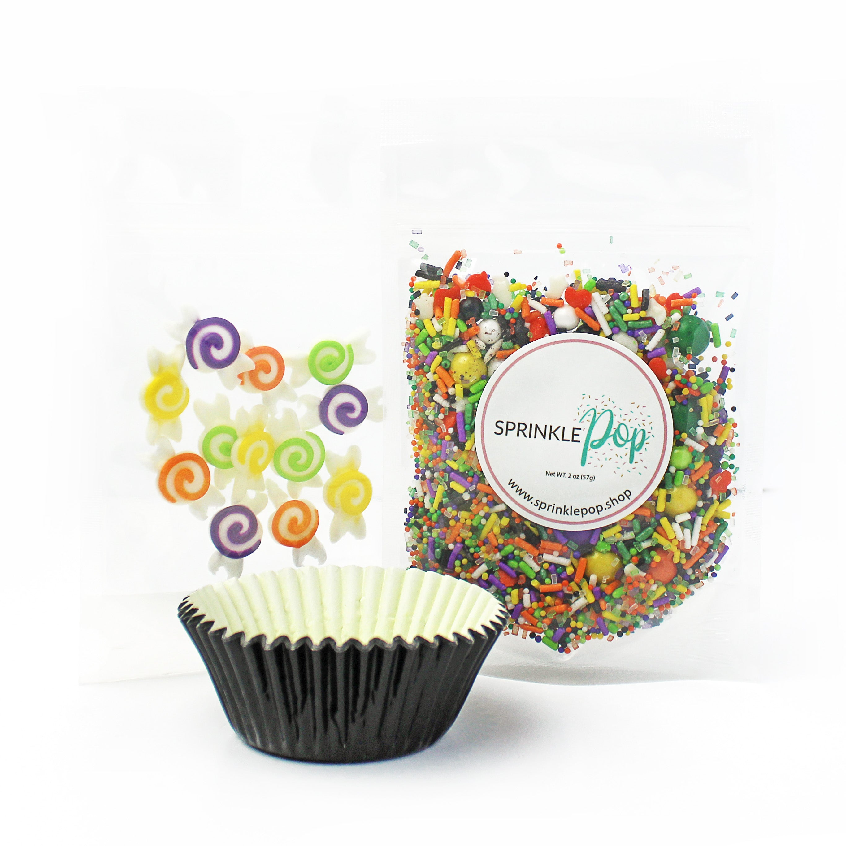 Halloween Candy Cupcake Kit