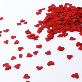 Large Red Heart Confetti