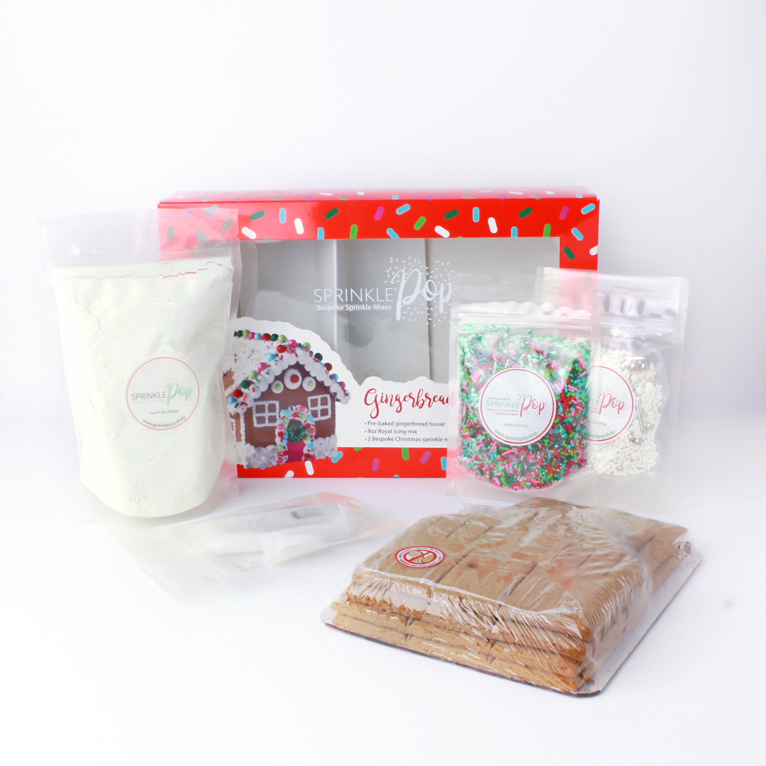 Sprinkle Gingerbread House Kit